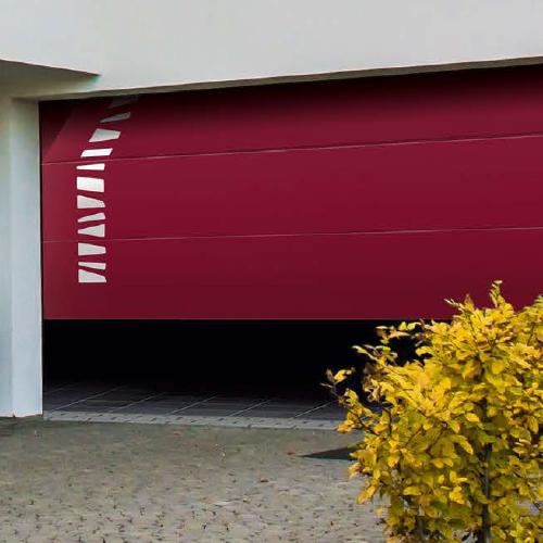 Portes de garage axxess fermetures for Panne porte de garage sectionnelle